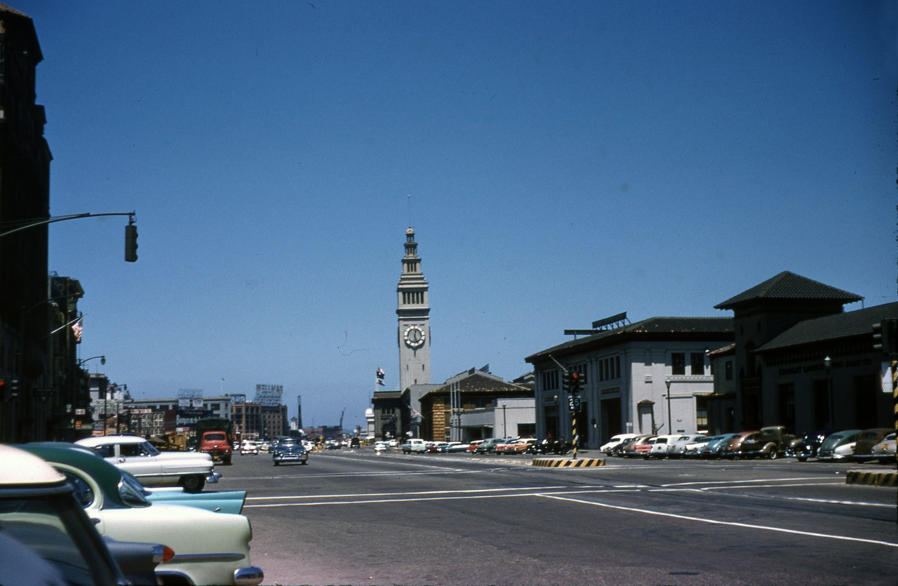 SF FERRY BUILDING MAY 31 1957