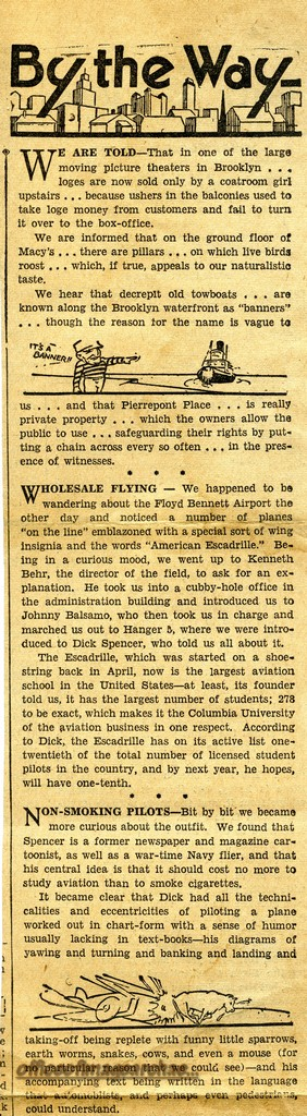 NEWS CLIP BROOKLYN DAILY EAGLE 1936 03