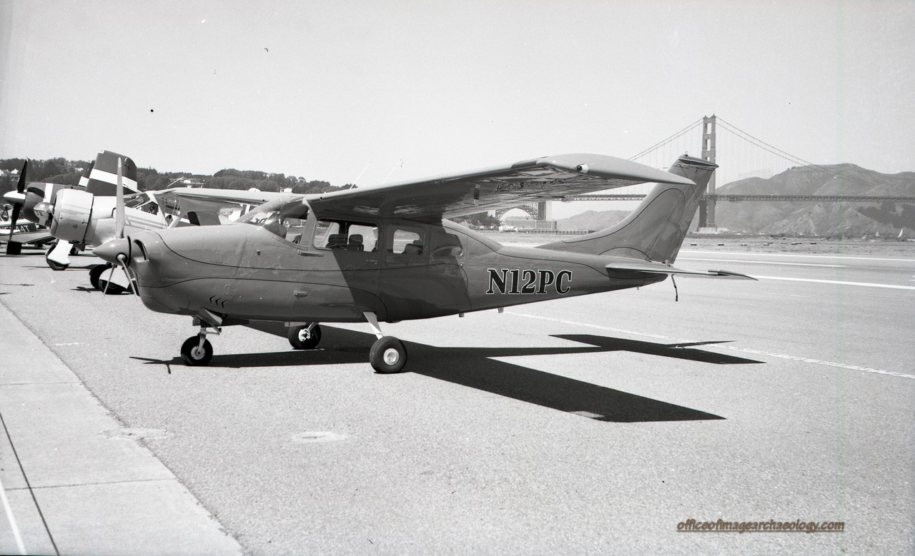 Aircraft N12PC Crissy Field Aug 1972