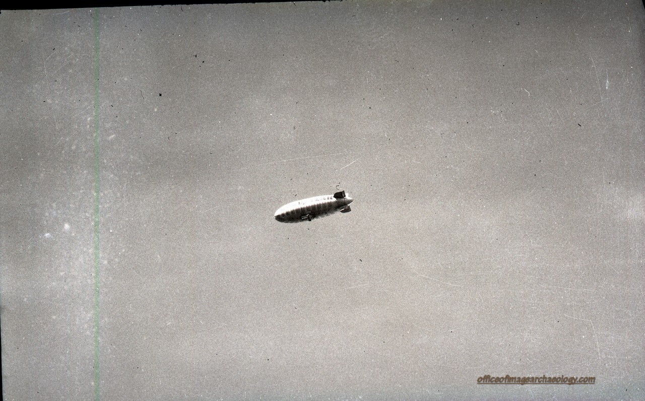 Goodyear Blimp July 1966