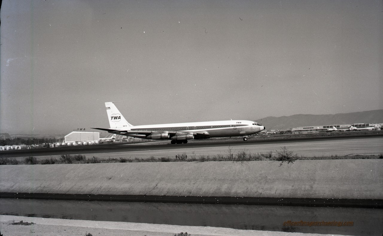 Trans World Air N8731 SFI Sept 1970