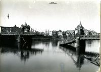 ADOLF HITLER BRIDGE DESTROYED A