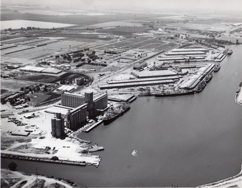 California Stockton Port 1950s