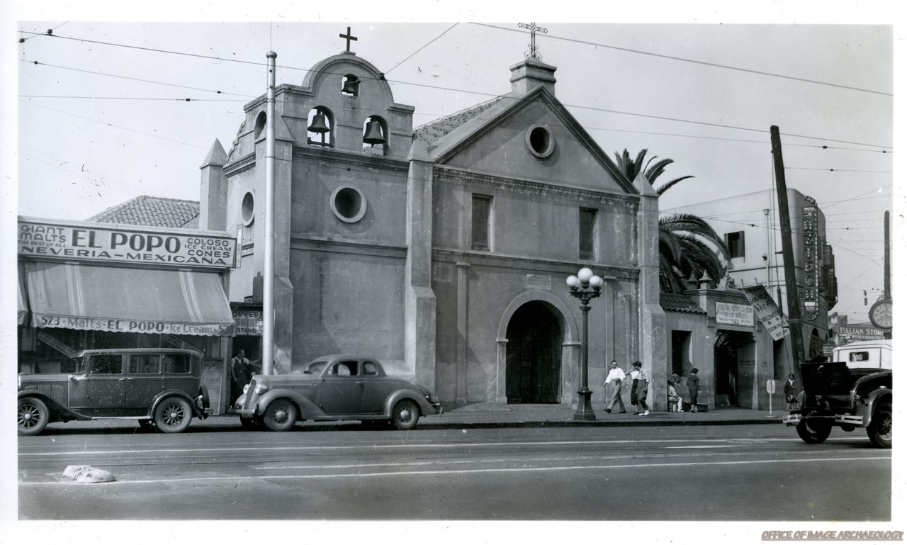 LOS ANGELES CA FIRST CHURCH IN LA 1822