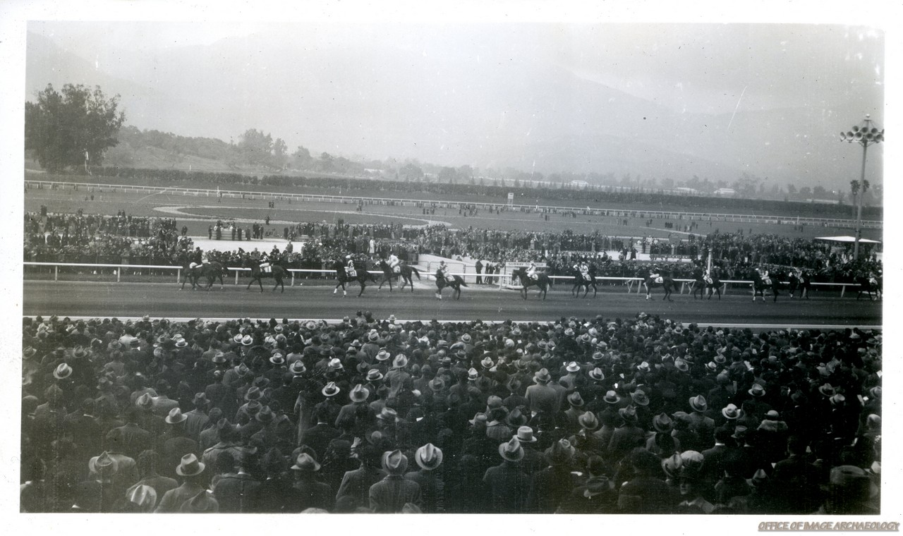 SANTA ANITA CA SANTA ANITA RACE TRACK MARCH 5 1938