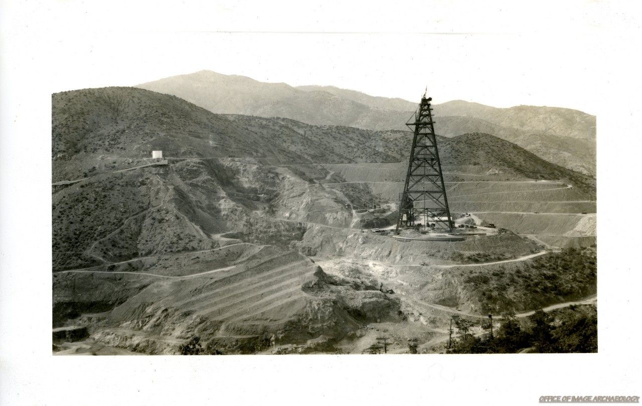 SHASTA DAM CA NORTH OF REDDING CA DAM UNDER CONSTRUCTION APRIL 1940