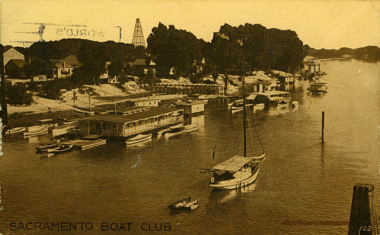 CALIFORNIA Sacramento Boat Club RPPC