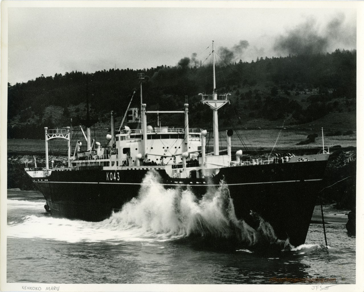 California Stewarts Point kenkoko maru 1951b