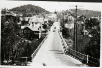 CALIFORNIA NEVADA CITY Pine street bridge NEGATIVE