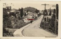 CALIFORNIA NEVADA CITY Pine street bridge RPPC