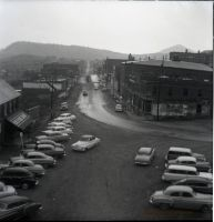 UNKNOWN STREET 1950s NEGATIVE