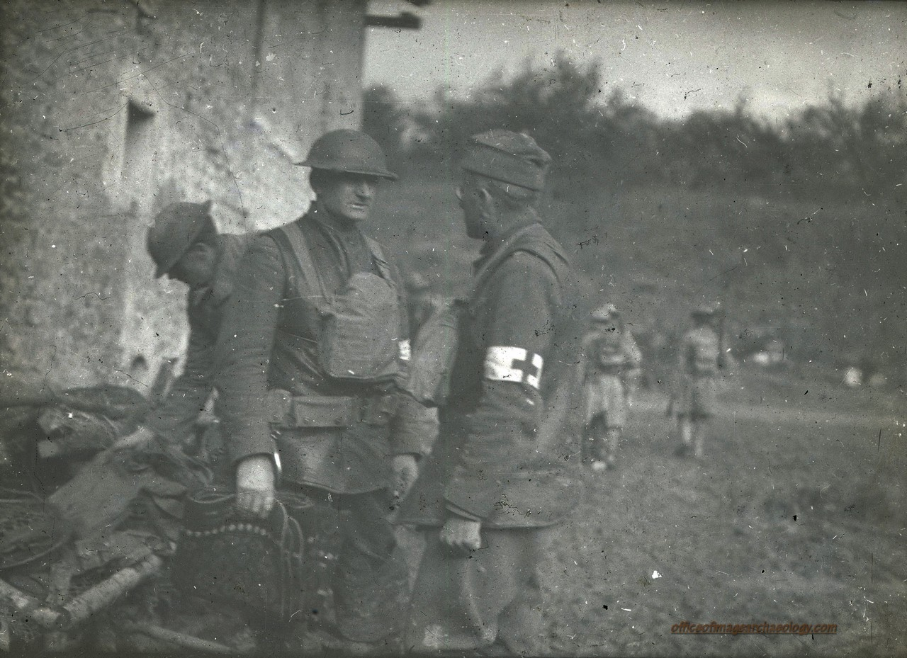 WWI France Glass Negative 11