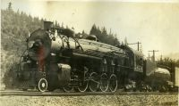 BOSTON AND MAIN STEAM LOCOMOTIVE 3624