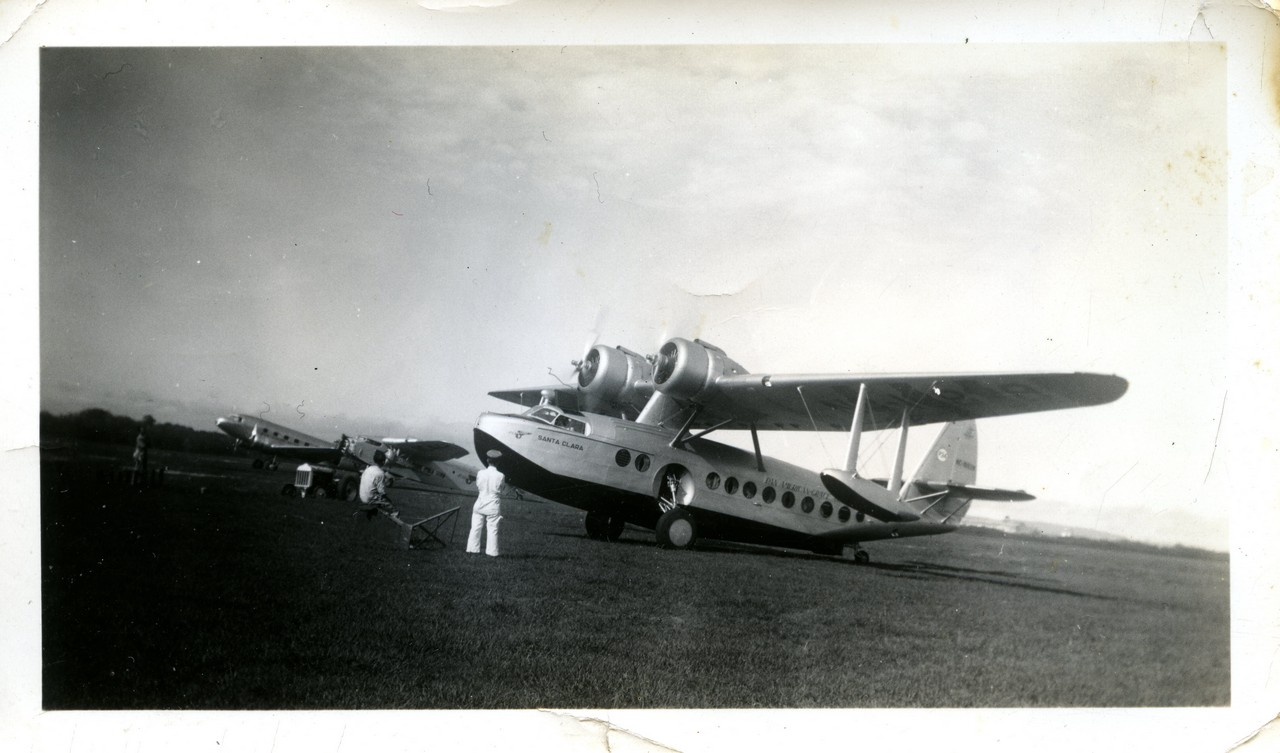 S-43 SIKORSKY SANTA CLARA CRASHED AUG 4 1937 A
