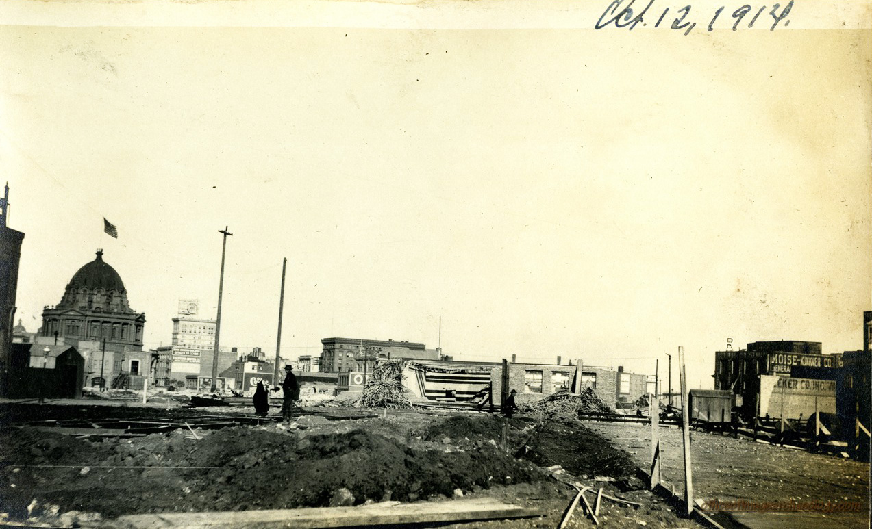 STATE BUILDING SITE CIVIC CENTER OCT 12 1914 01