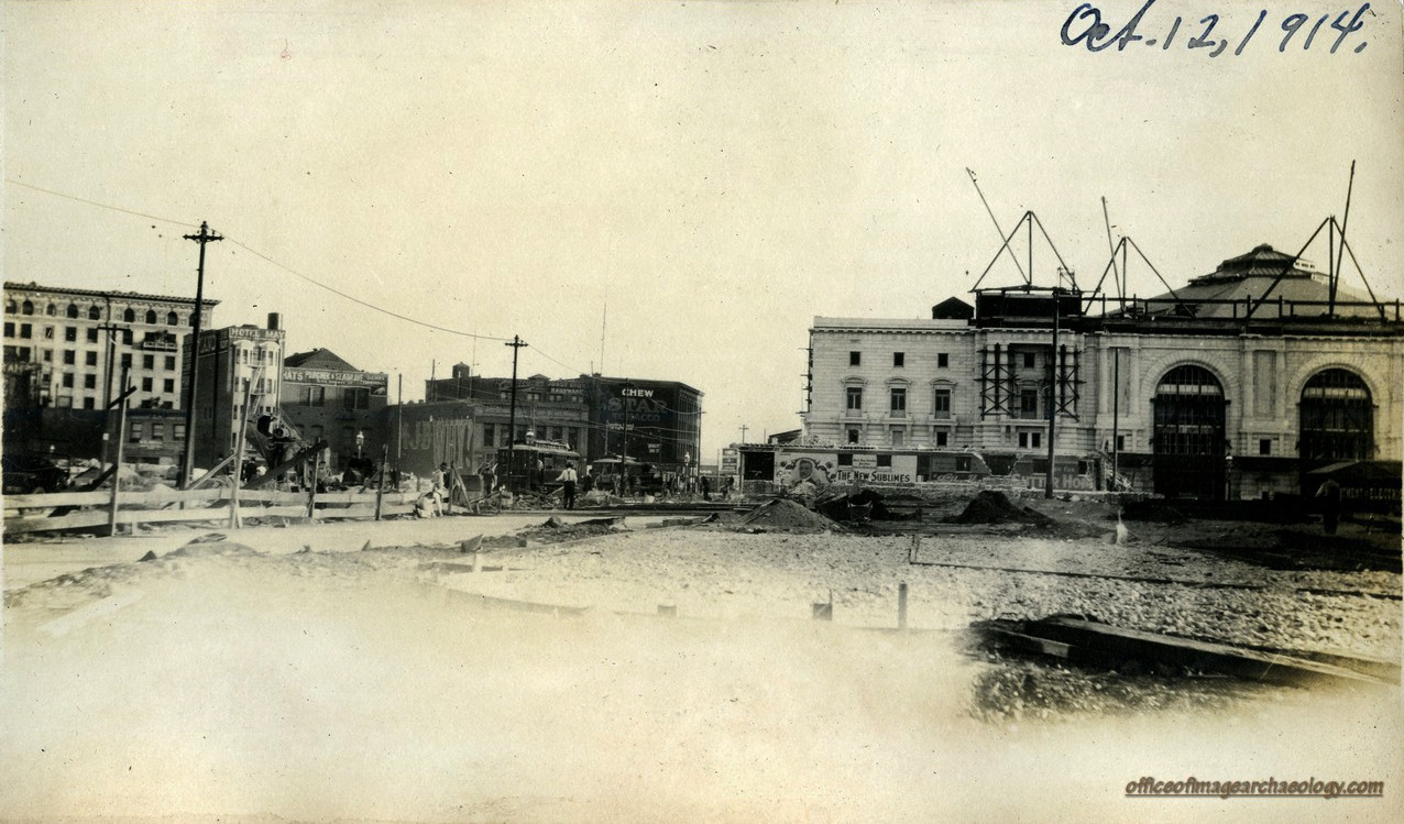 STATE BUILDING SITE CIVIC CENTER OCT 12 1914 03