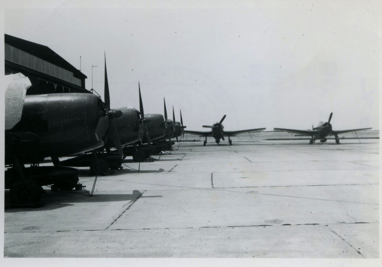 Pensacola NAS flightline