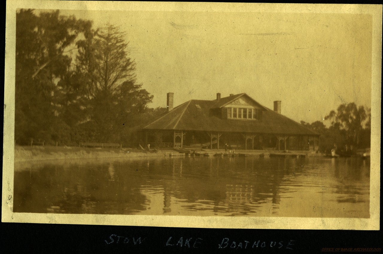 STOW LAKE BOAT HOUSE