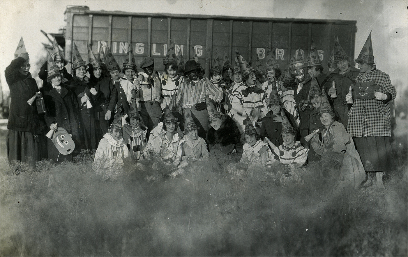 RINGLING BROHERS CIRCUS PHOTO CIRCA 1920