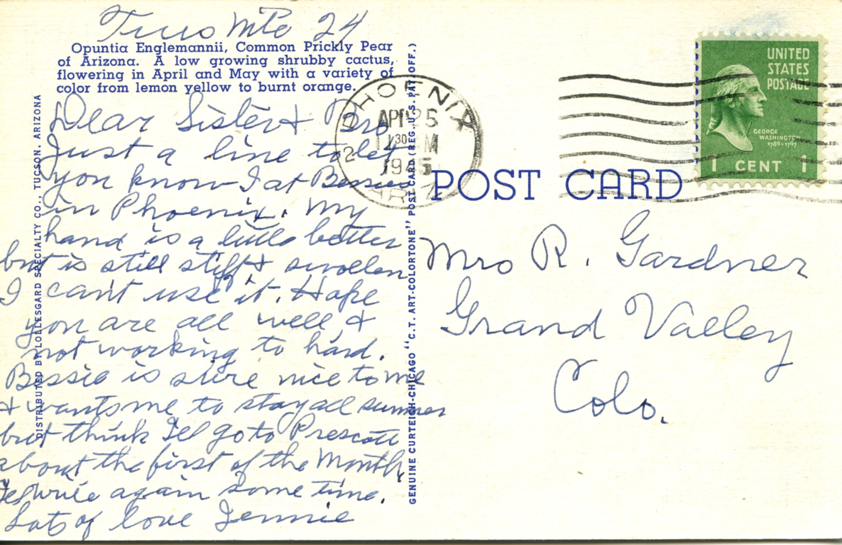 POST CARDS1944008A