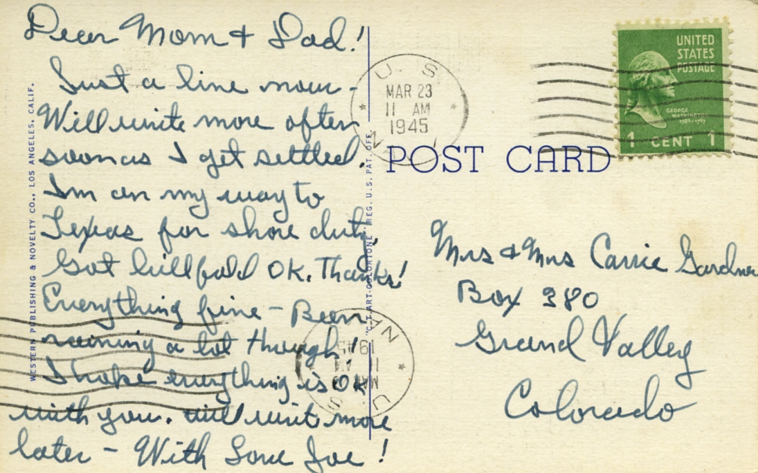 POST CARDS1944033A