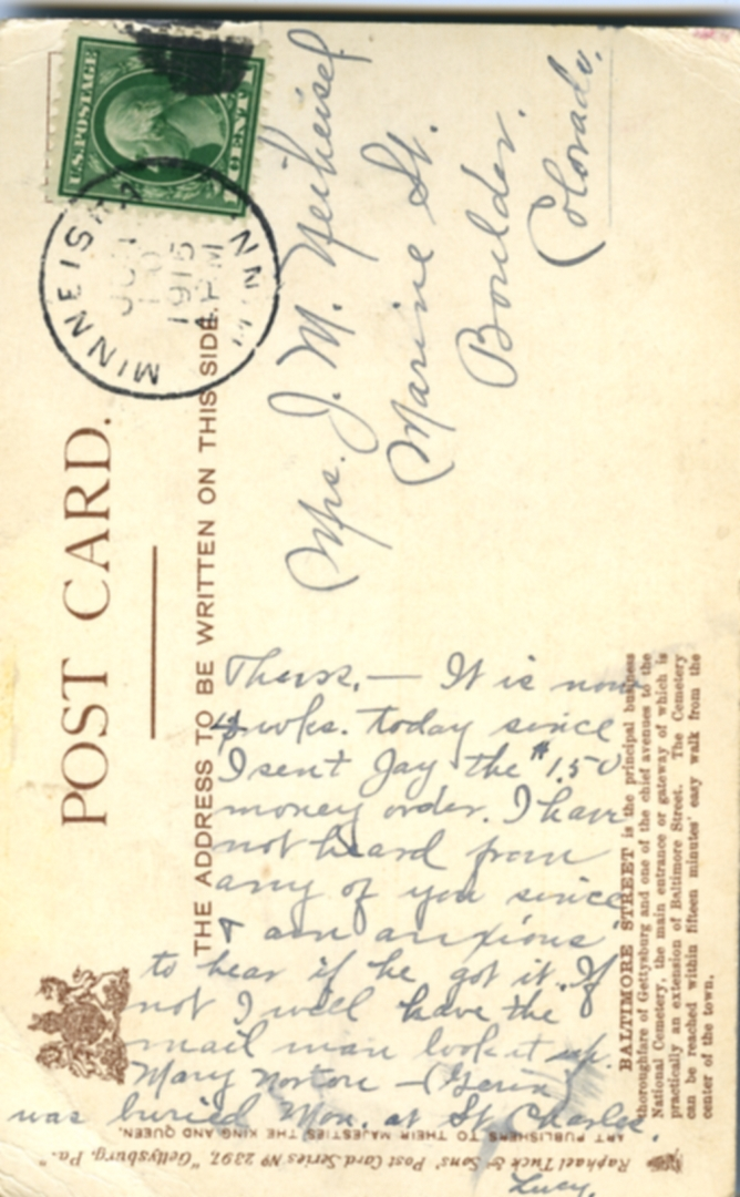 POST CARDS1944040A