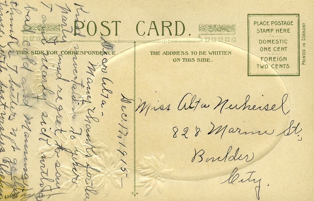 POST CARDS1944043A
