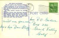POST CARDS1944025A
